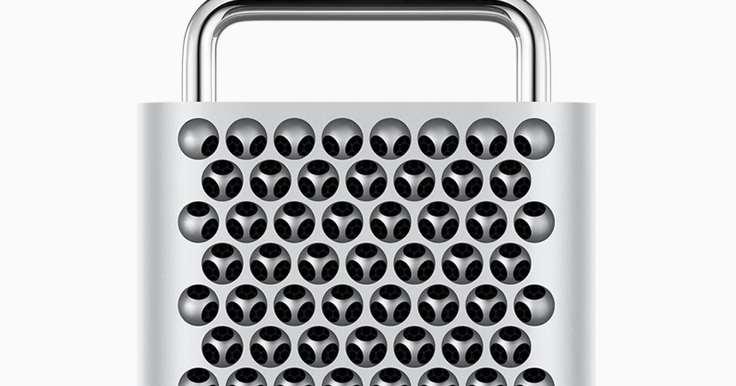 Apple is back to cheese graters because it's hard to upgrade a trash can
