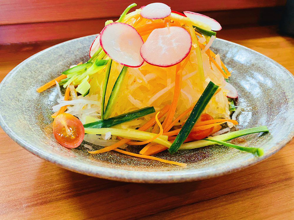 Salad from Shokudou