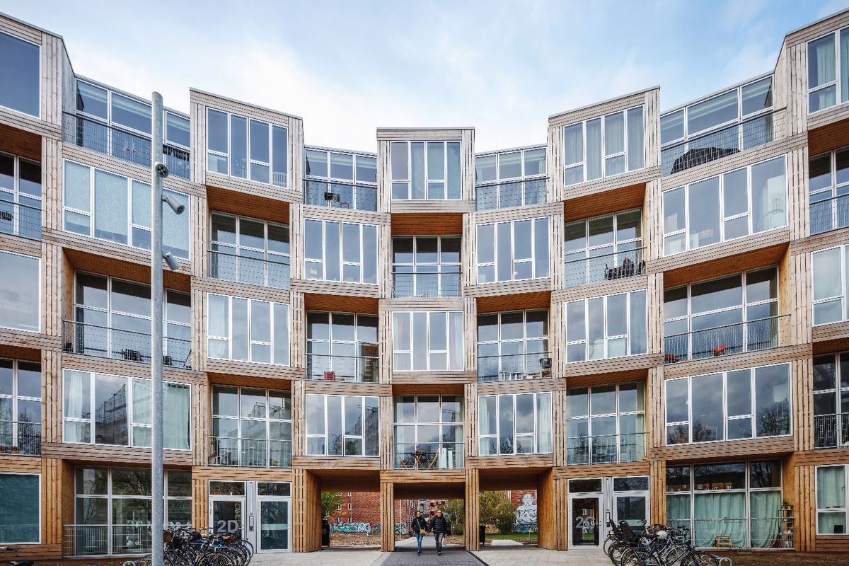 Bjarke ingels completes prefab affordable housing project - Affordable interior design seattle ...