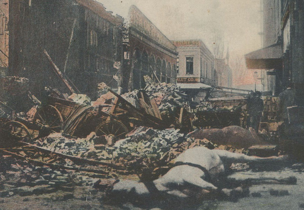 Photos: San Francisco great earthquake and fire of 1906