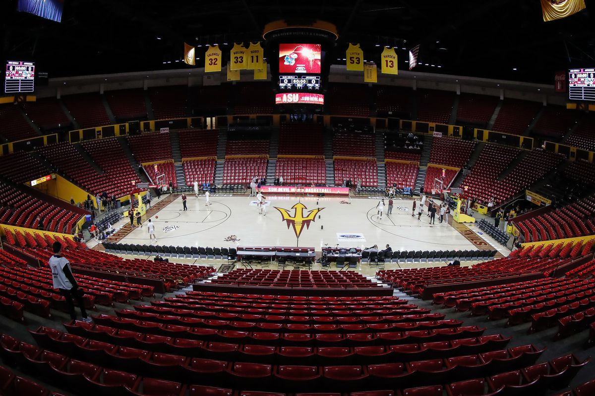 COLLEGE BASKETBALL: DEC 22 Kansas at Arizona State