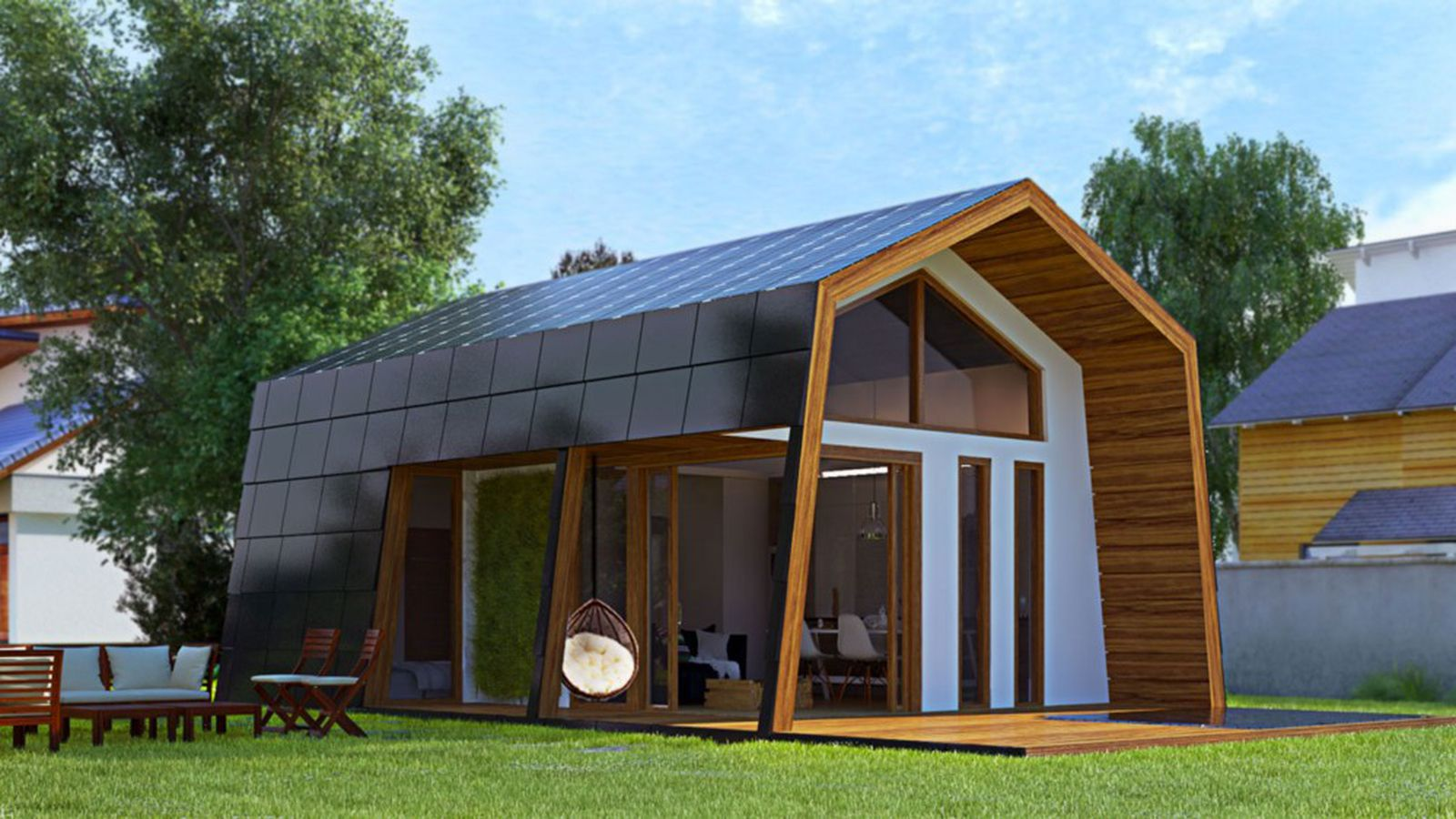 Ecokit 39 s modular prefab cabins are sustainable and arrive for Modern steel home kits