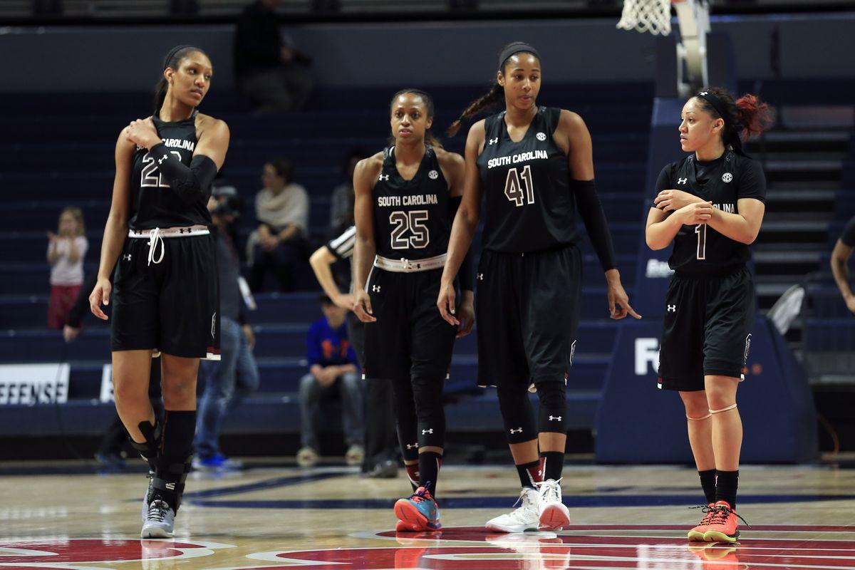 NCAA Womens Basketball: South Carolina at Mississippi
