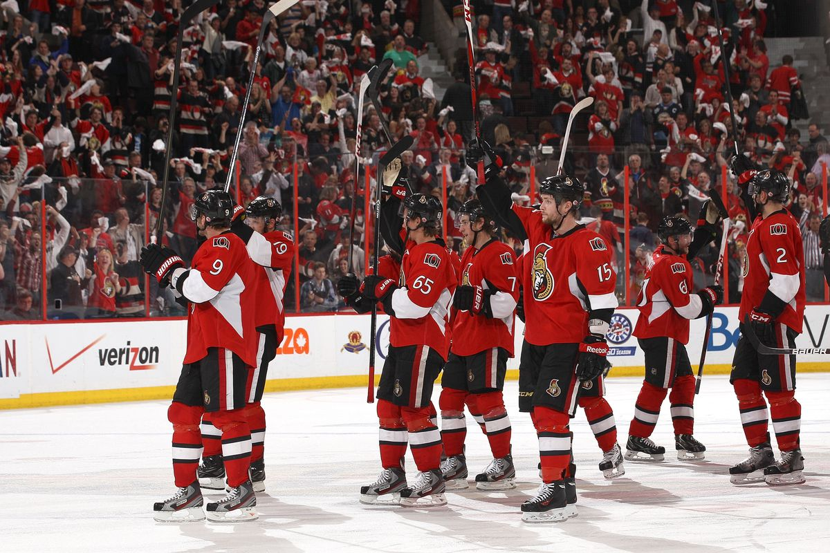 I'm sure the Sens thank you as well. This is what I imagine that would look like.