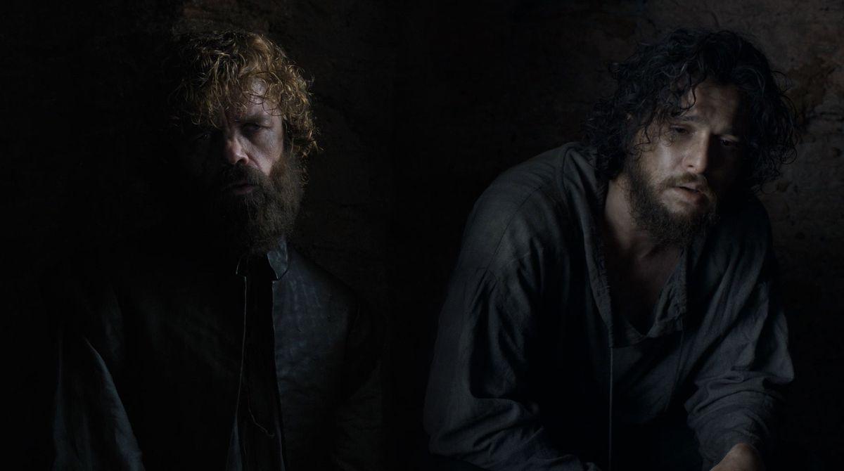 Game of Thrones S08E06 Tyrion Jon prison