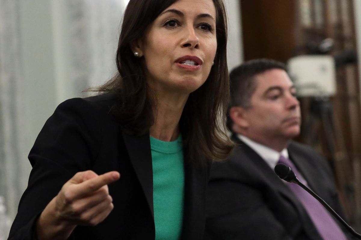 Jessica Rosenworcel, the acting commissioner of the Federal Communications Commission.