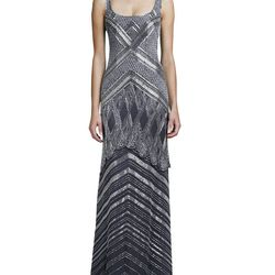 """<a href=""""http://www.neimanmarcus.com/Theia-by-Don-O-Neill-Deco-Beaded-Scoop-Neck-Gown-Shop-All-Clearance/prod161420157_cat51540736__/p.prod"""">Theia by Don O'Neill Deco-Beaded Scoop-Neck Gown</a>, $348 (was $995)"""