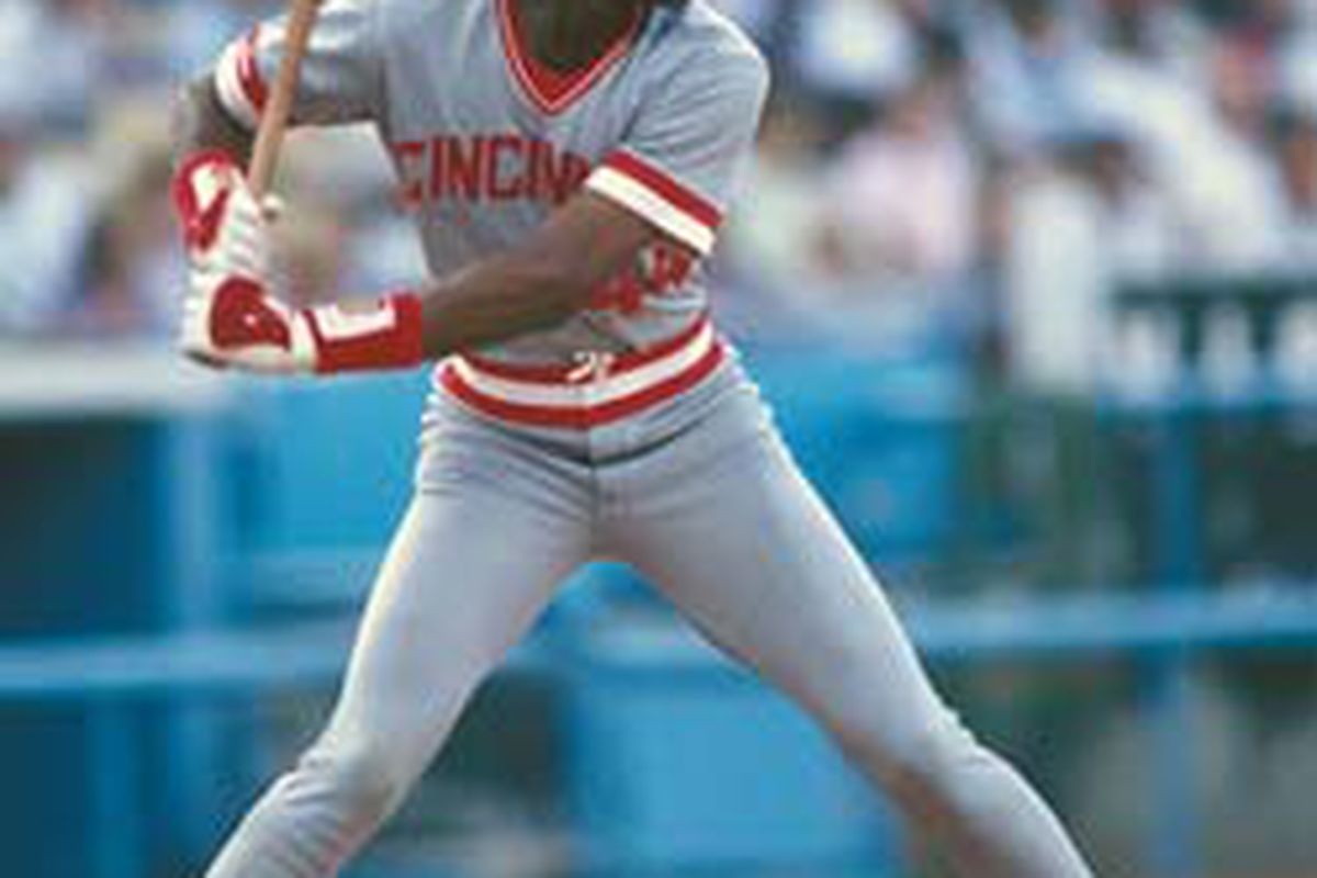 Believe it or not, kids, this <strike>beanpole</strike> guy was an awesome power hitter. And boy could he fly on the bases!