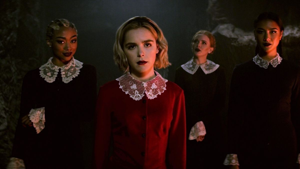Netflix's Sabrina reboot takes time to get wicked, but then