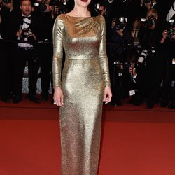 Marion Cotillard in custom Dior at the premiere of 'From the Land of the Moon.'