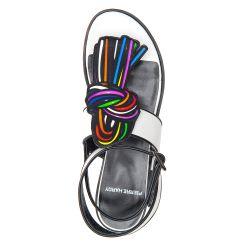 Pierre Hardy knot T-bar sandals