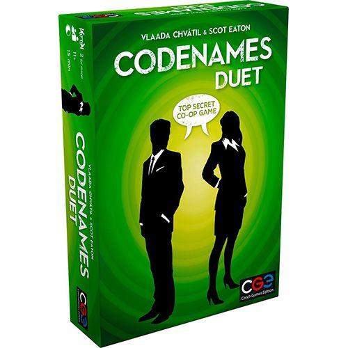 Box art for Codenames Duet