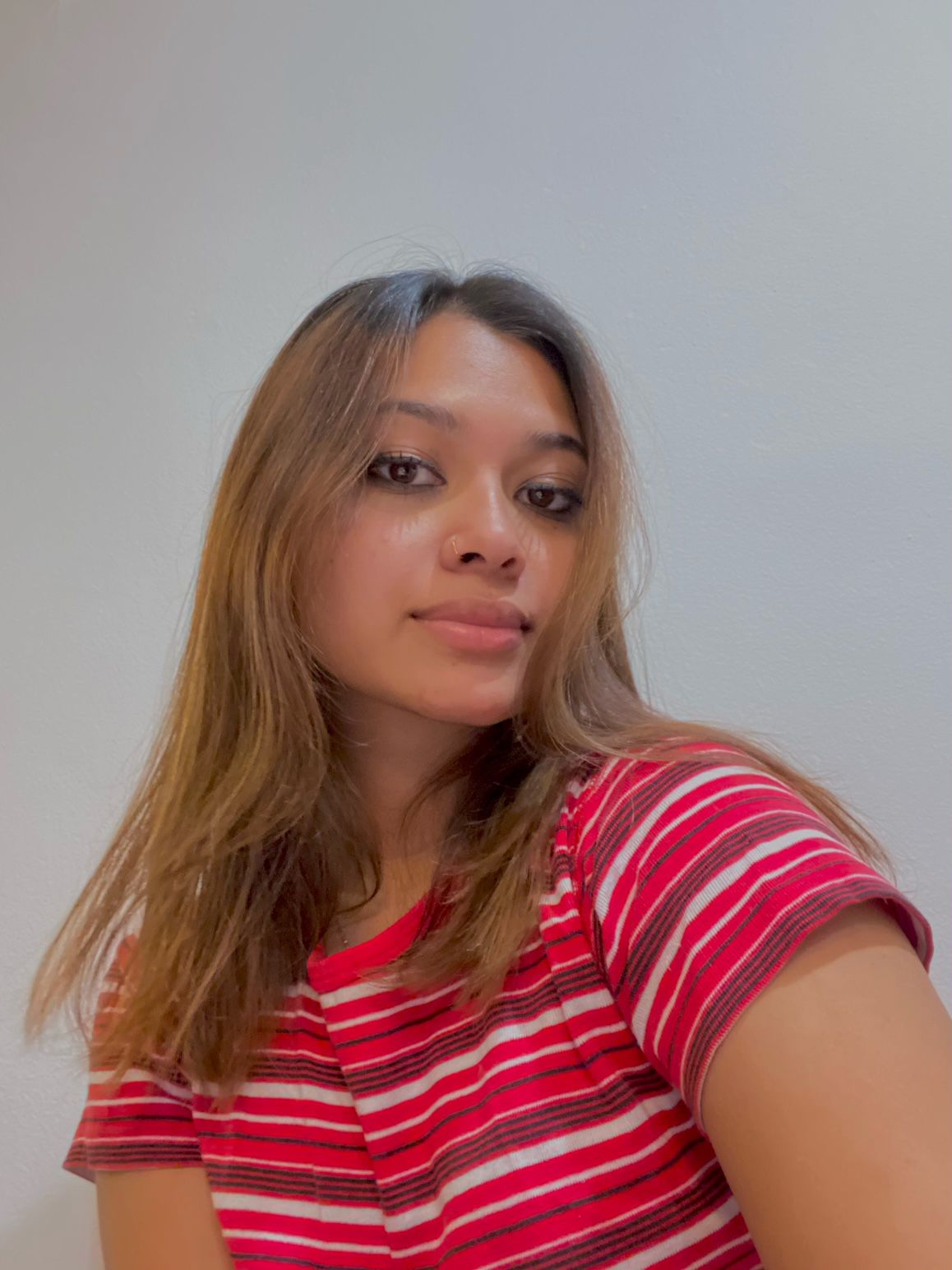 A photo of Munaja Mehzabin, 17, from Queens, New York.