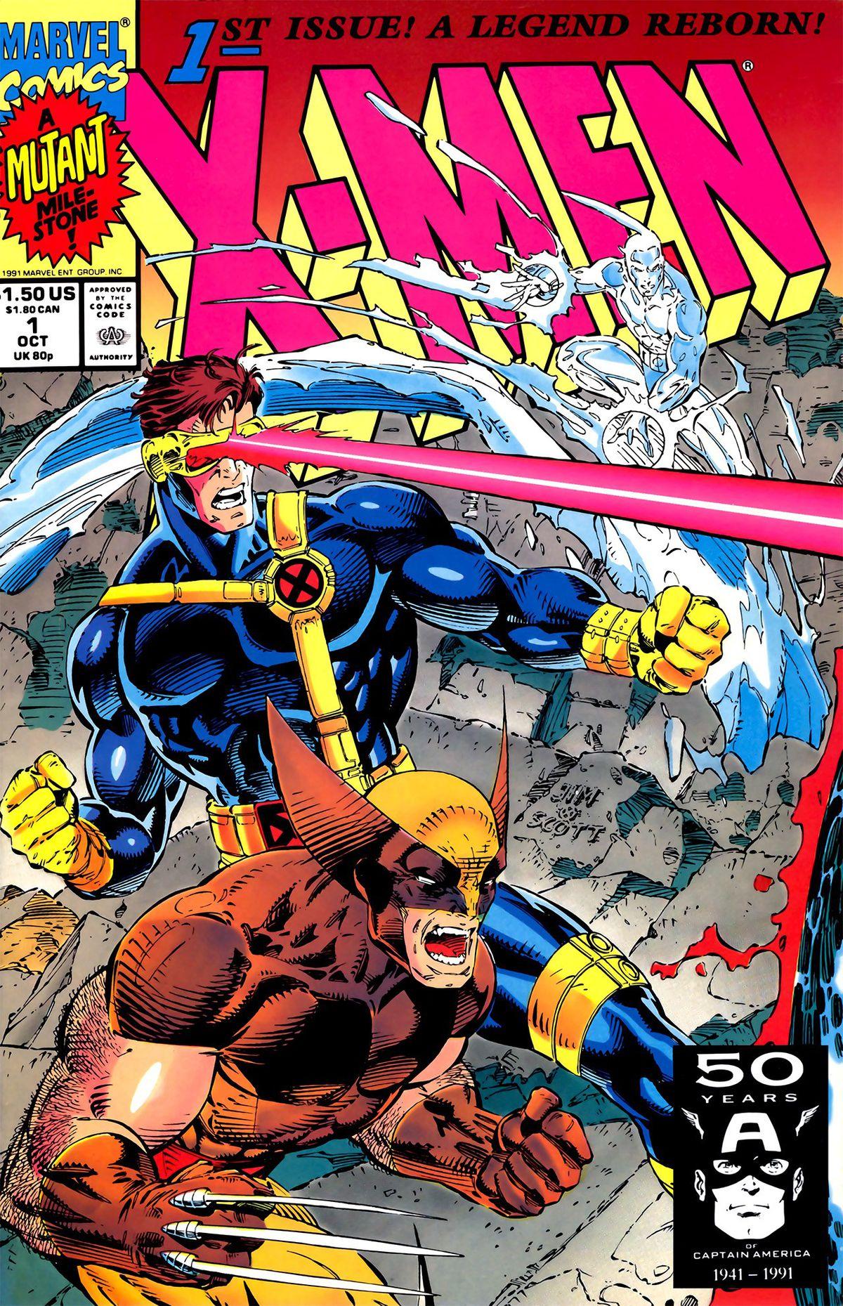 <em>'Spider-Man'</em> No. 1, '<em>X-Force'</em> No. 1, and '<em>X-Men' No. 1 (MarvelComics)</em>