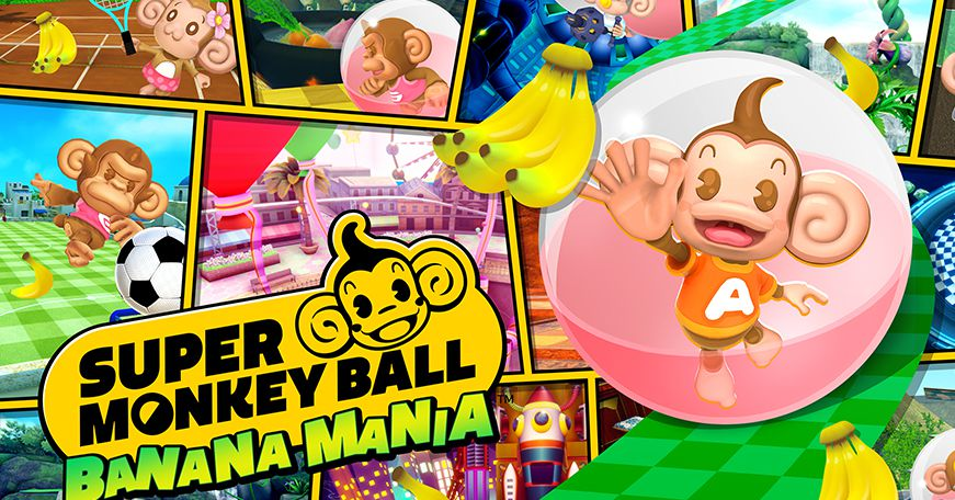 Super Monkey Ball Banana Mania is a remaster of the first three Super Monkey Ball games
