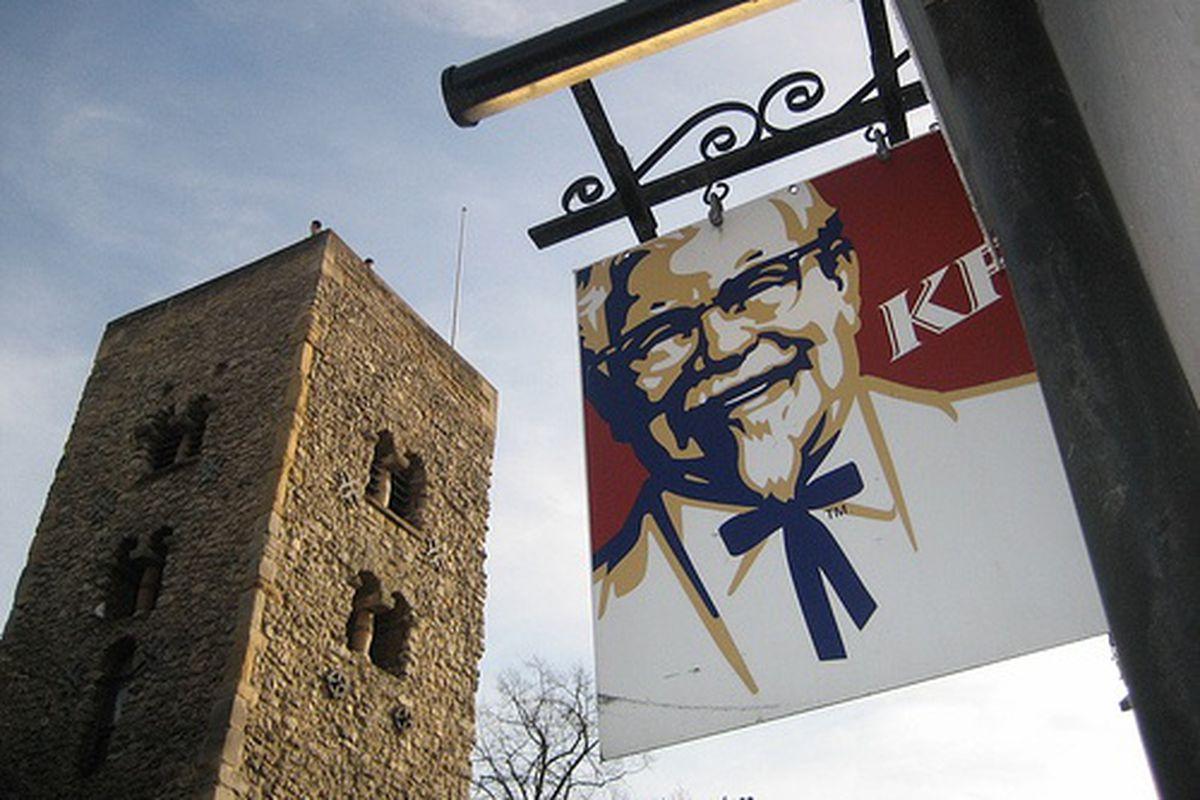 A British KFC.