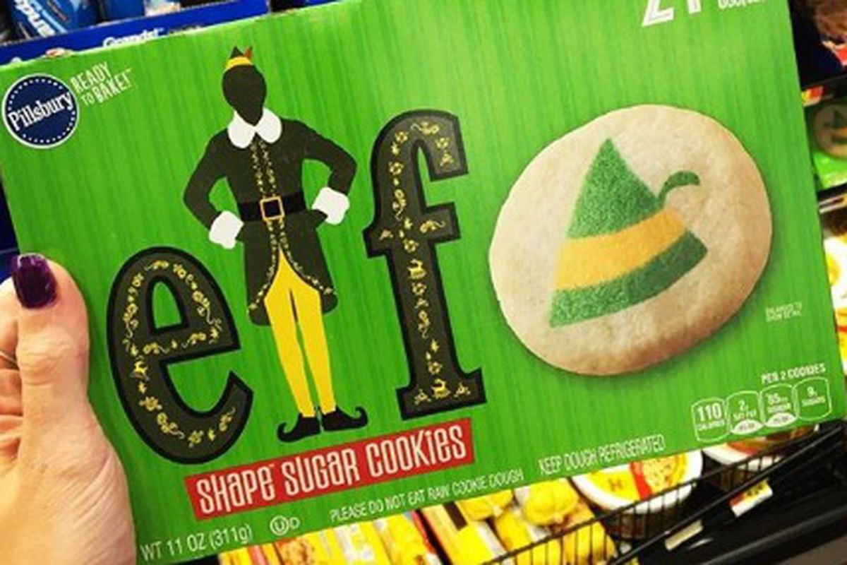 There's a new cookie out there that'll have you shouting with sheer Christmas joy.