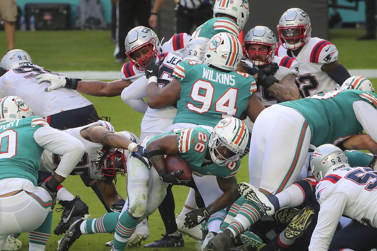 New England Patriots Vs. Miami Dolphins at Hard Rock Stadium