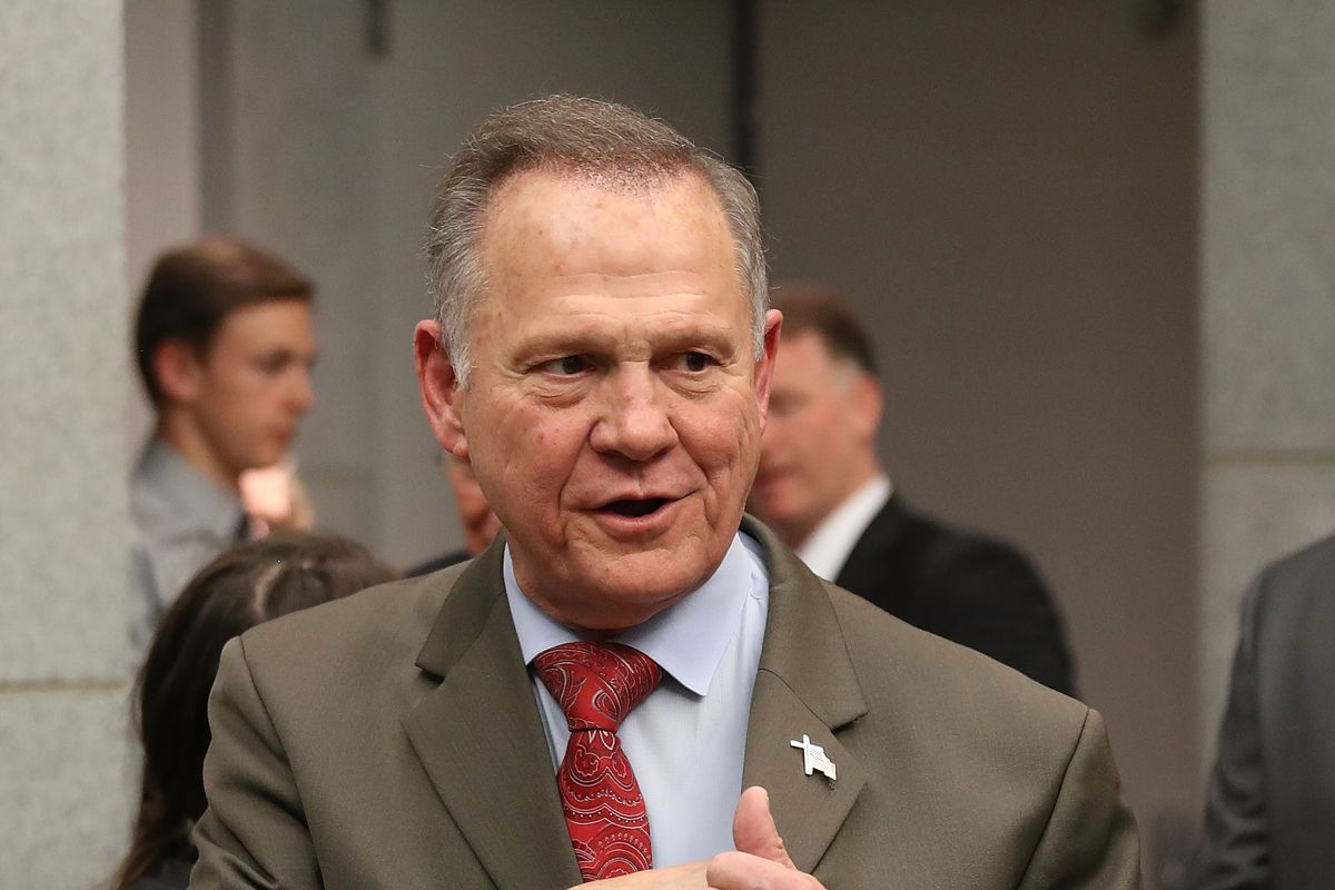 Alabama GOP Senate Candidate Roy Moore Holds Election Night Watch Party