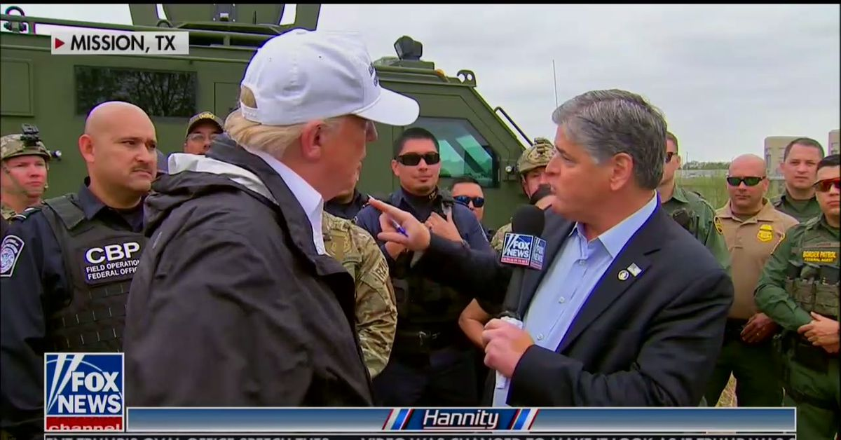 Trump uses Border Patrol agents as props during Fox News interview - Vox.com thumbnail