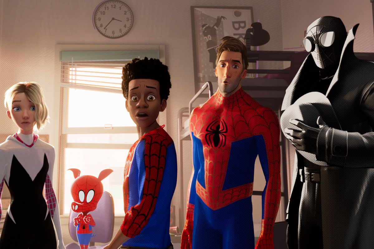 Spider-Man: Into the Spider-Verse's after credits scene