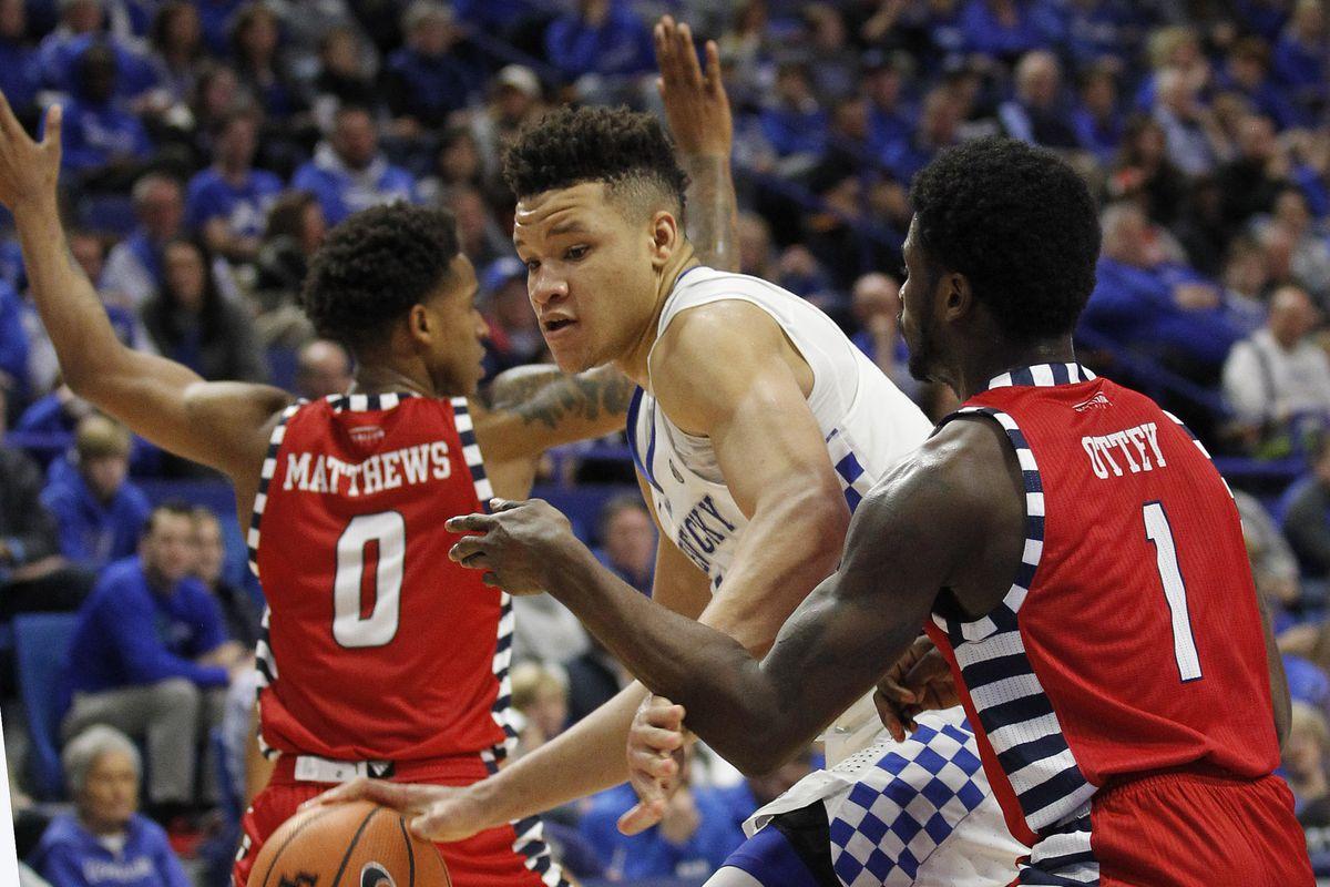 NCAA Basketball: Illinois-Chicago at Kentucky