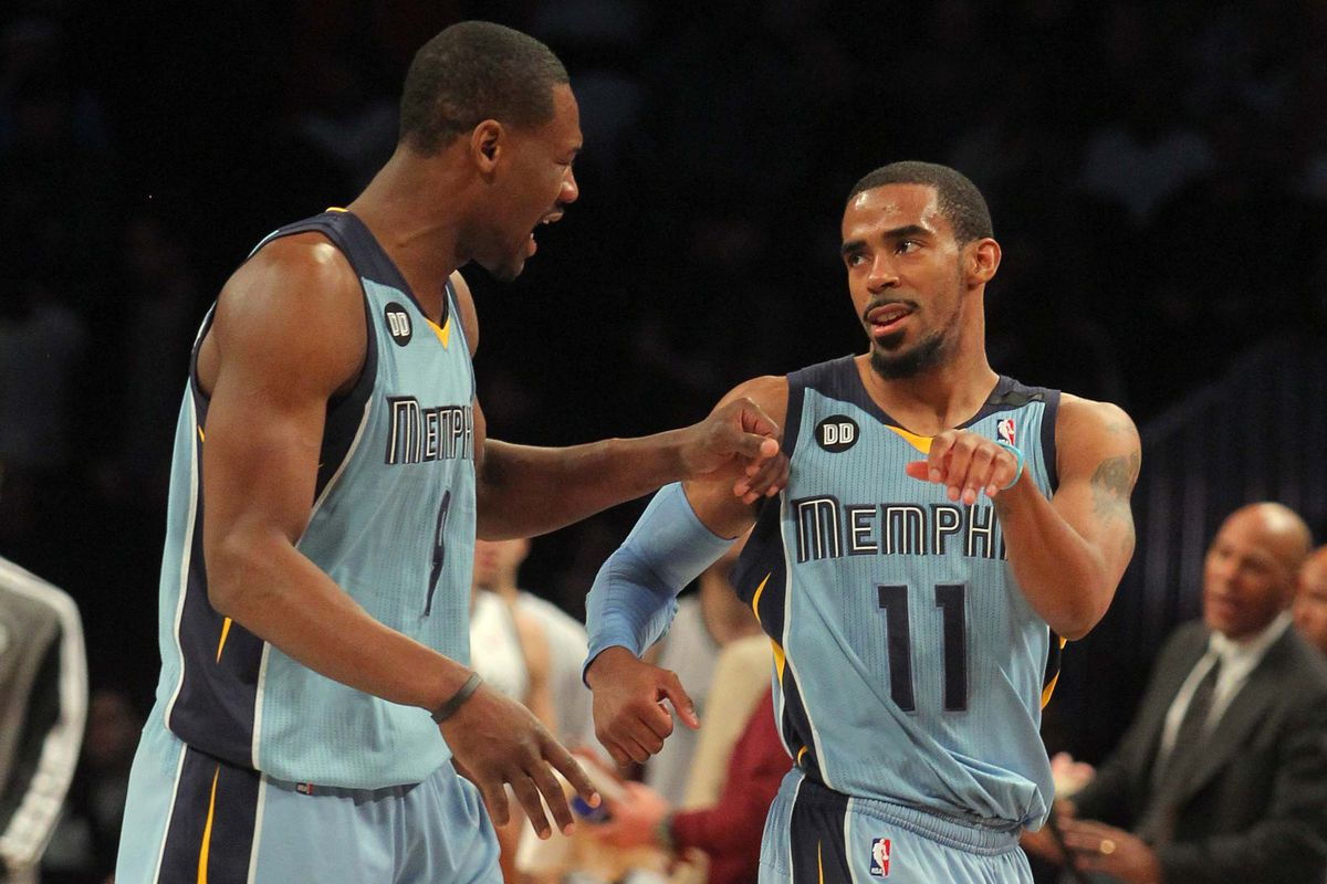 Conley and the Grizz are surging
