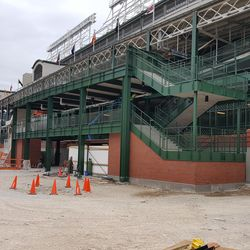 Another view of the west entrance -