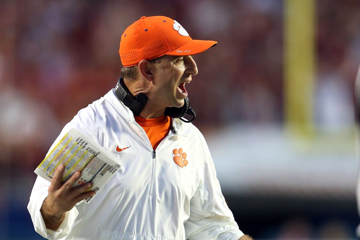 Dabo Swinney's new $5 million salary makes this old comment