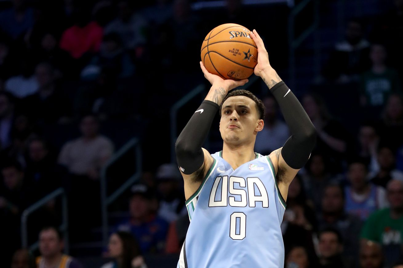 Kyle Kuzma is working with shooting coach 'Lethal Shooter' this summer