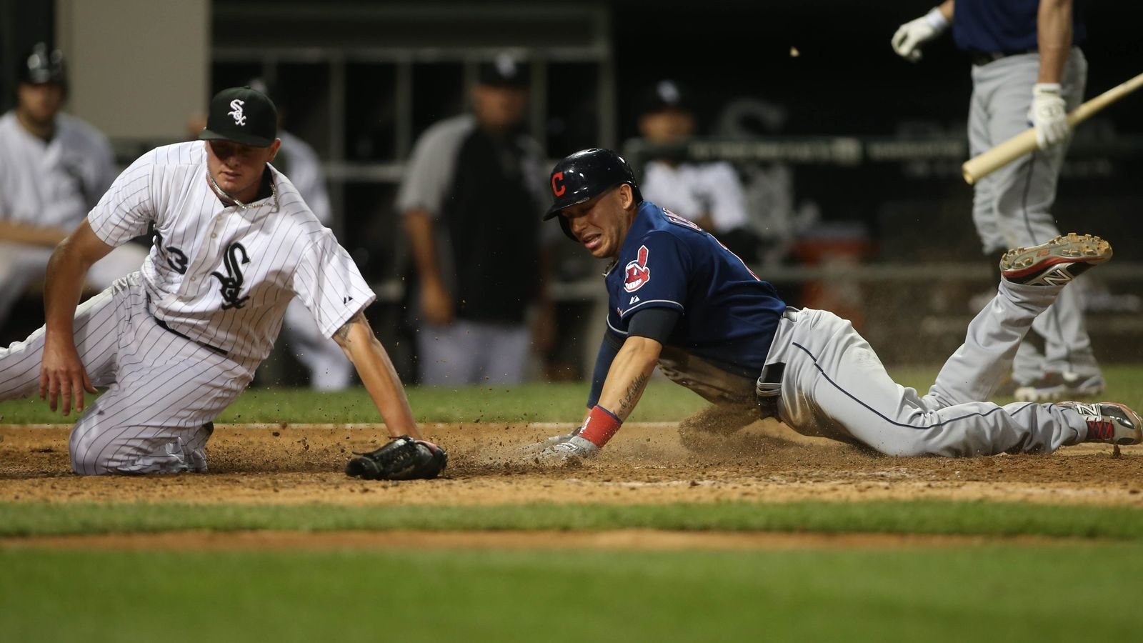 Indians 9, White Sox 8: Eight hours of baseball ends in ...