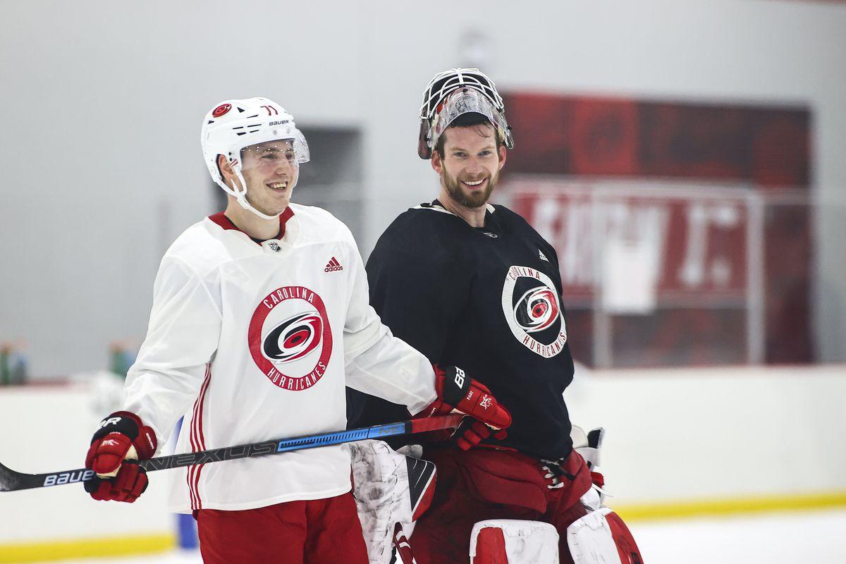 NHL: JAN 12 Hurricanes Training Camp