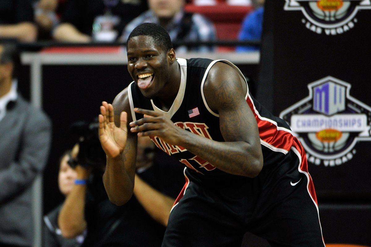 Canadian and UNLV star, Anthony Bennett