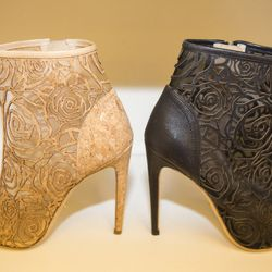 Yes, those are ankle boots made of cork.