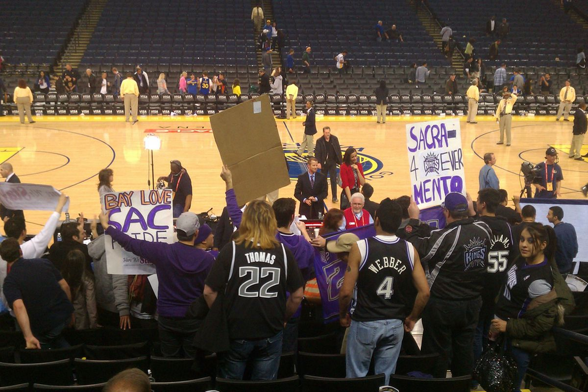 It was a big night for the Kings faithful.