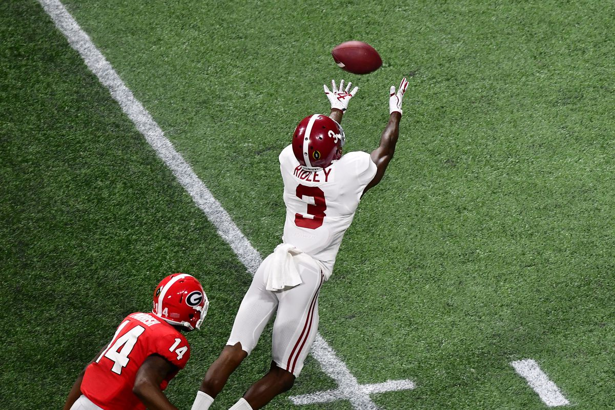 Nfl Draft Grades Calvin Ridley And The Falcons Snag As And Bs For Pick The Falcoholic