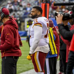 """October 2019: There were a lot of reasons why the Browns were underachieving, but """"needing a left tackle"""" is a good excuse to blame things on. Trying to acquire left tackle Trent Williams from the Washington Redskins was a story leading up to the trade deadline, but ultimately, the Redskins just refused to listen to offers for him."""
