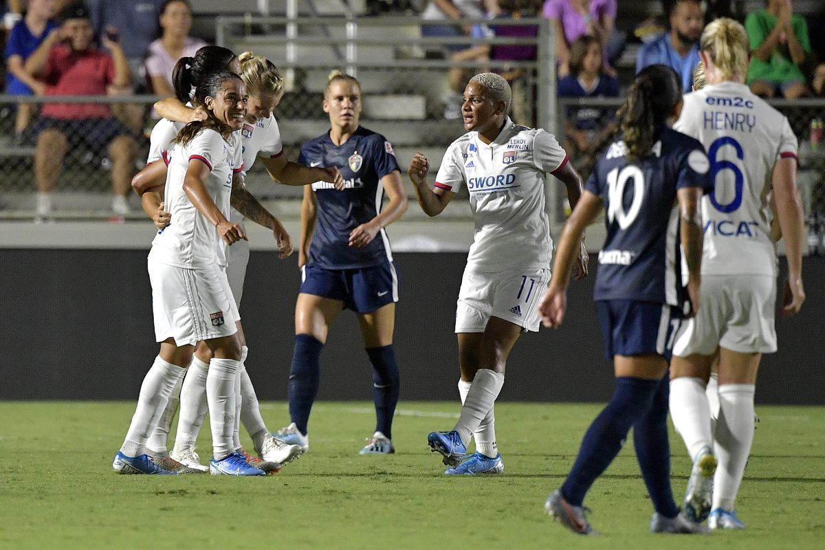 Lyon Feminines v North Carolina Courage: Championship - 2019 Women's International Champions Cup