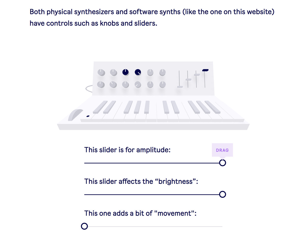 Play with synths in your browser with Ableton's fun