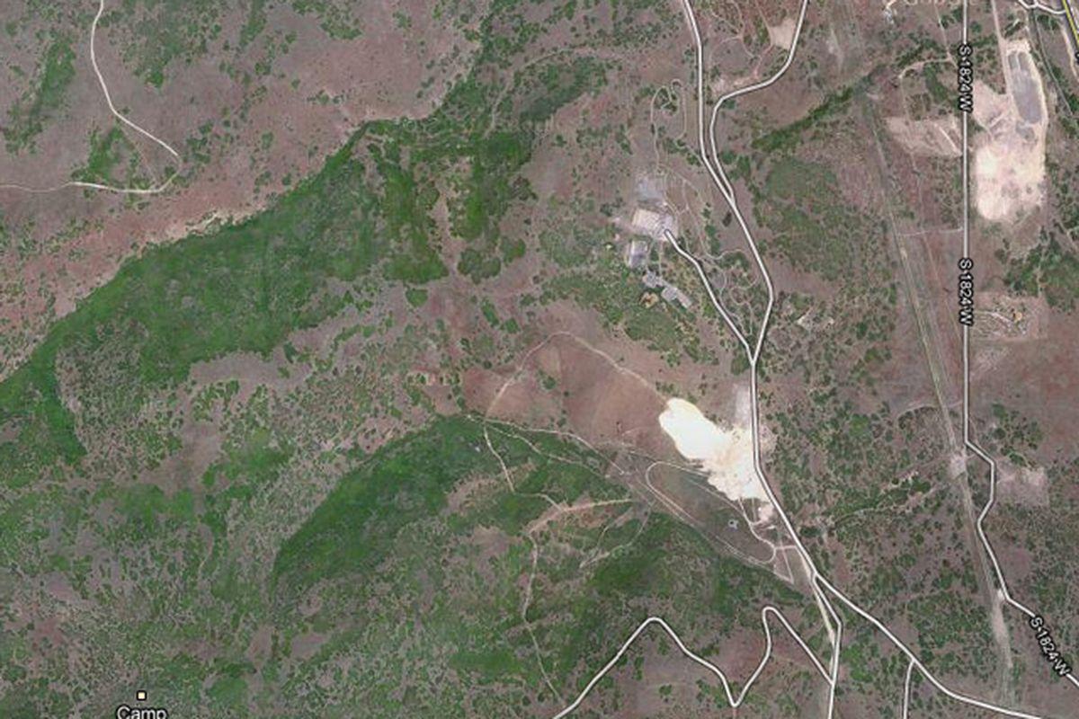 Camp Williams Google Maps Shot