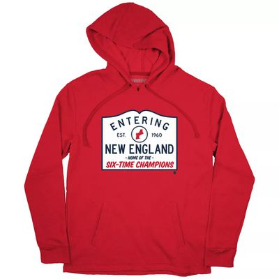 "NewEnglandHomeoftheChamps HOODIE BreakingT hoodie  1  - ""We're Still Here"" became the Patriots' playoff motto"