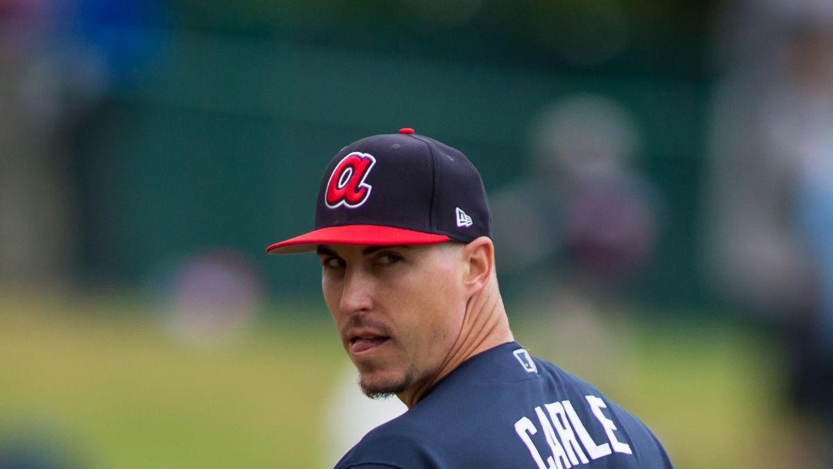 MLB: MAR 19 Spring Training - Nationals at Braves