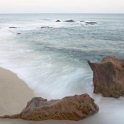 "The beach at <a href=""http://www.esperanzaresort.com/"">Esperanza Resort</a> in Cabo, honeymoon destination of choice for LeAnn Rimes and Eddie Cibran as well as Gwyneth Paltrow and Chris Martin."