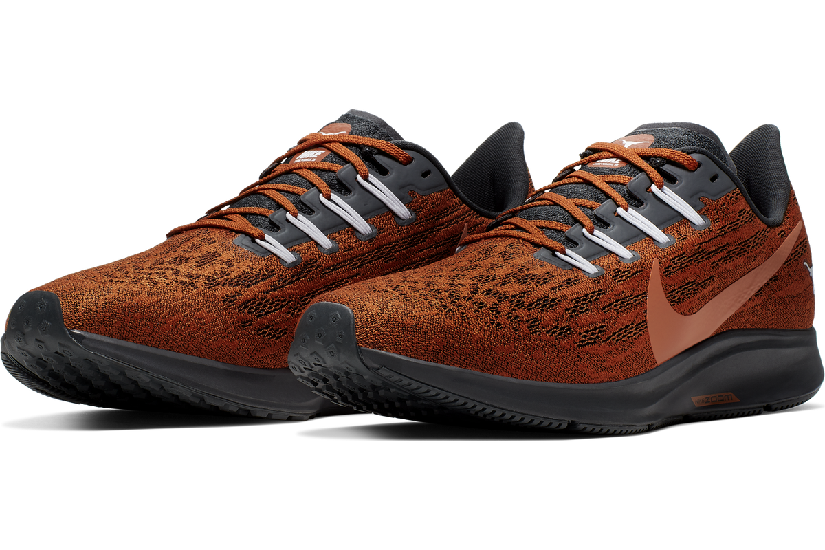Nike drops the new Pegasus 36 Texas shoe collection - Burnt
