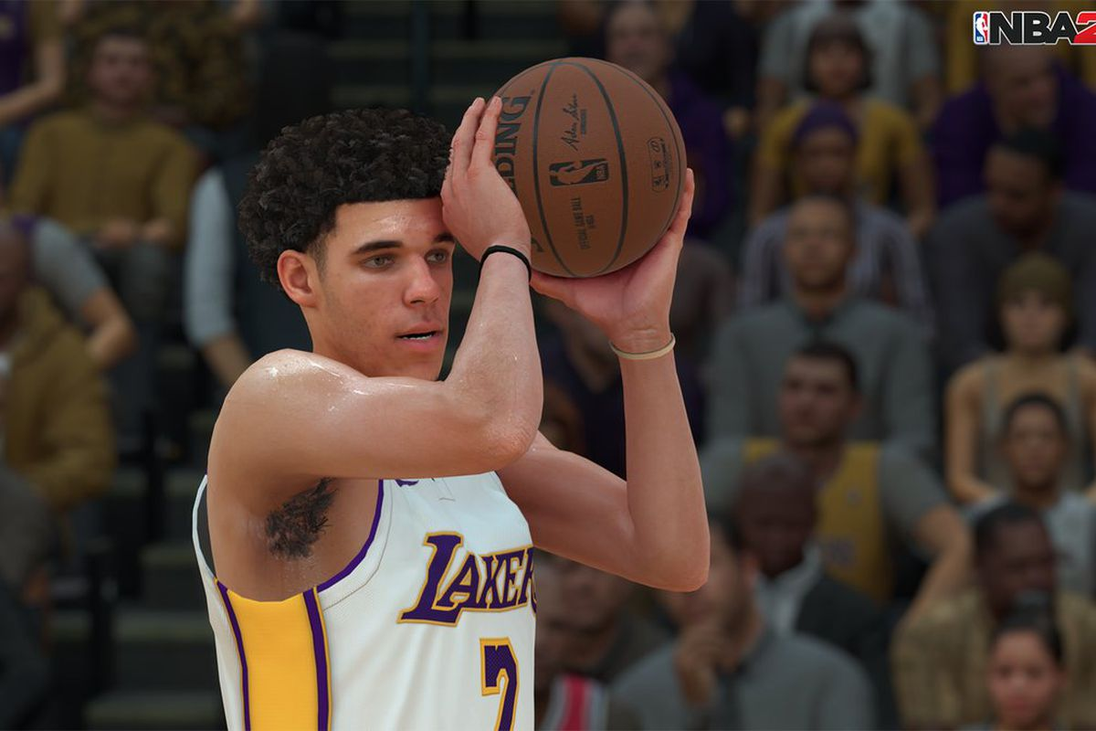 Lonzo Ball Career Stats >> Big Baller Brand officially in NBA 2K18 and on Lonzo Ball's feet - Silver Screen and Roll