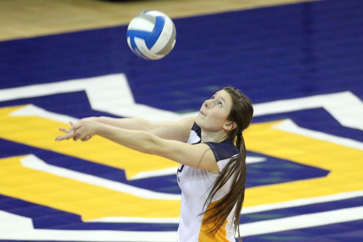 Autumn Bailey had 13 digs to go along with her match high 15 kills.
