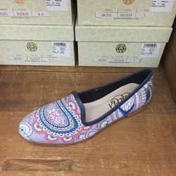 Paisley loafer, $40