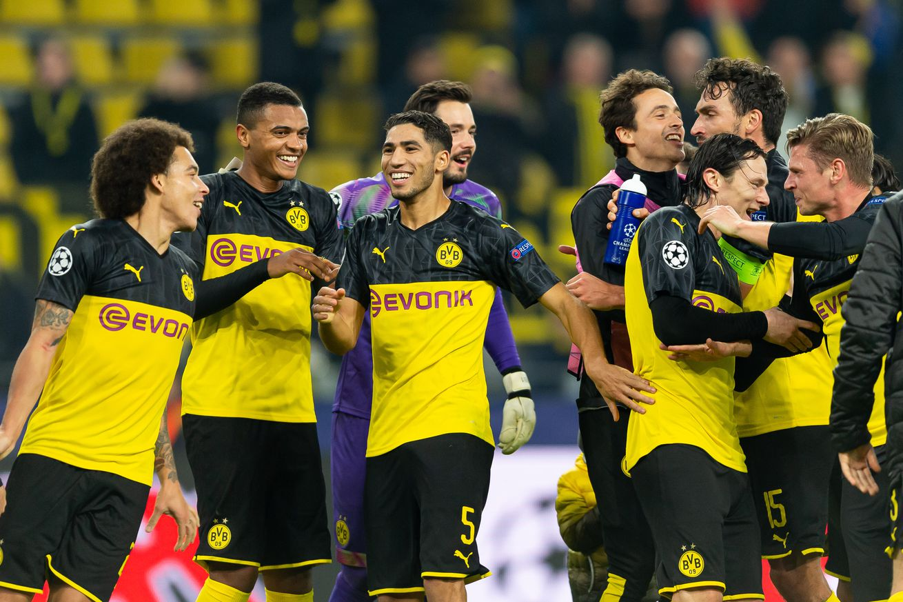 BVB Stage Stunning Comeback Against Inter Milan, Rescue Champions League Ambitions