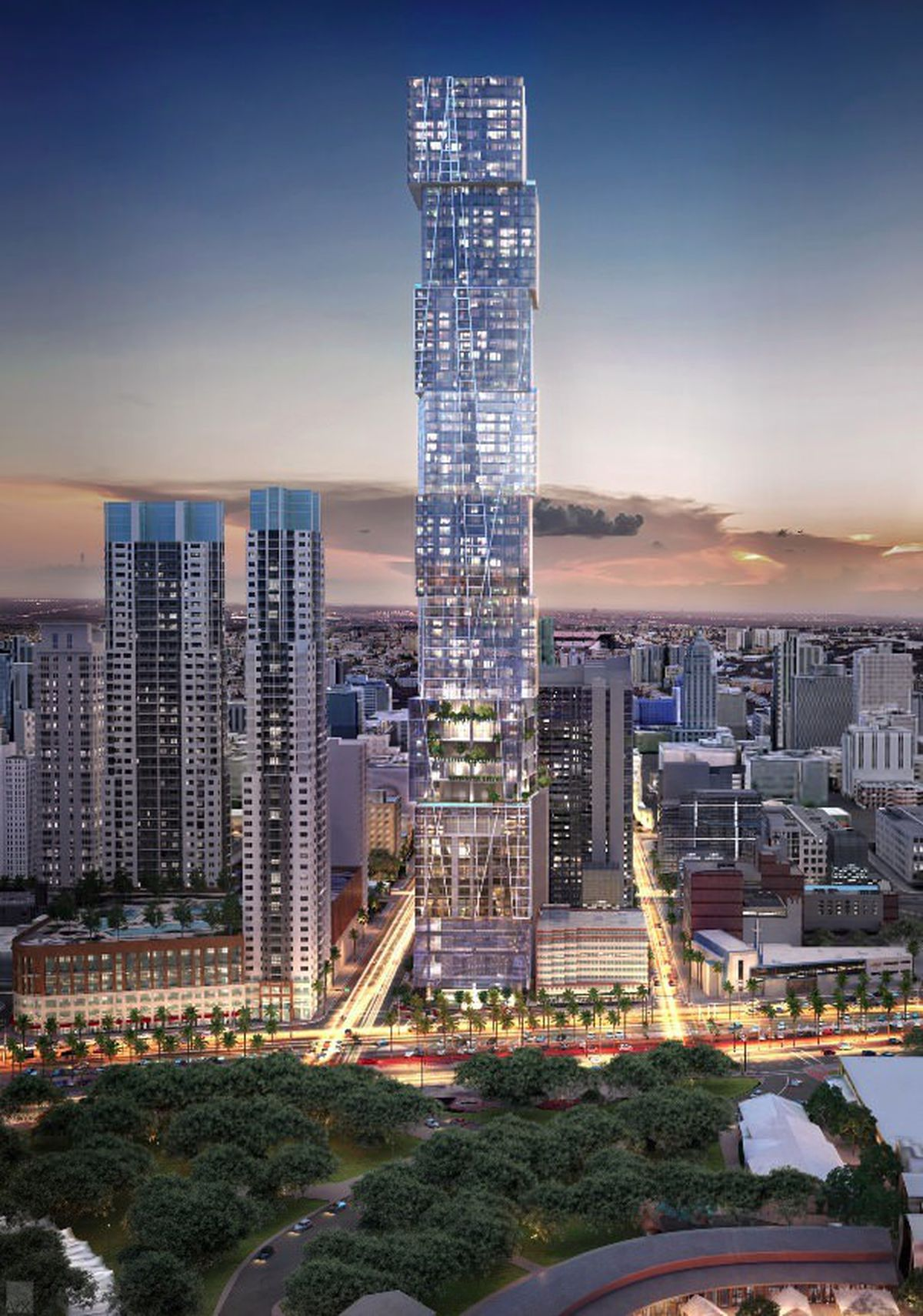 Five Star Auto Sales >> Miami's tallest planned tower unveils new renderings, design - Curbed Miami