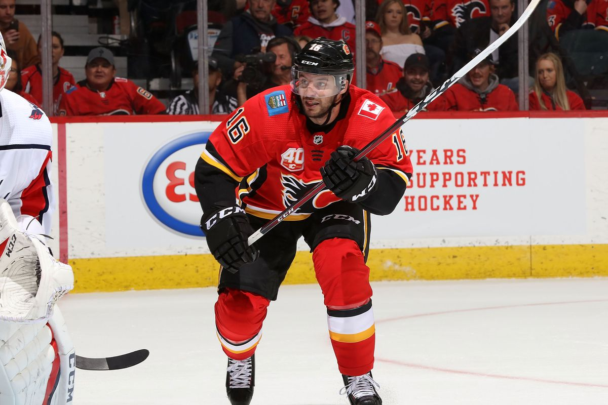 Washington Capitals v Calgary Flames